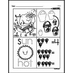 Free First Grade Number Sense PDF Worksheets Worksheet #158