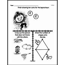 Free First Grade Number Sense PDF Worksheets Worksheet #173