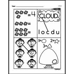Free First Grade Number Sense PDF Worksheets Worksheet #117