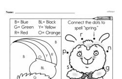 Free First Grade Number Sense PDF Worksheets Worksheet #174