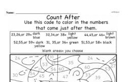 Free First Grade Number Sense PDF Worksheets Worksheet #184