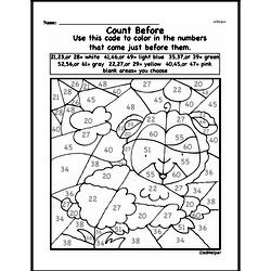 Free First Grade Number Sense PDF Worksheets Worksheet #217