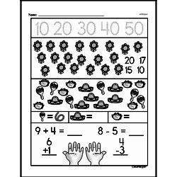 Free First Grade Number Sense PDF Worksheets Worksheet #170