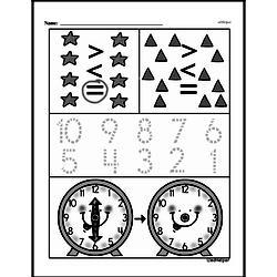 Free First Grade Number Sense PDF Worksheets Worksheet #127