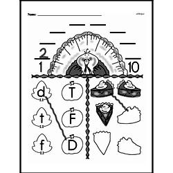 Free First Grade Number Sense PDF Worksheets Worksheet #102