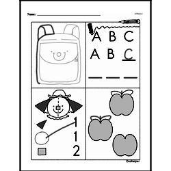 Free First Grade Number Sense PDF Worksheets Worksheet #135