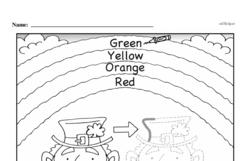 Free First Grade Number Sense PDF Worksheets Worksheet #15