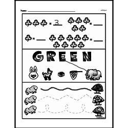 Free First Grade Number Sense PDF Worksheets Worksheet #30