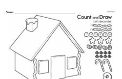 Free First Grade Number Sense PDF Worksheets Worksheet #58