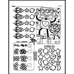 Free First Grade Number Sense PDF Worksheets Worksheet #191