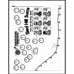 Free First Grade Number Sense PDF Worksheets Worksheet #257