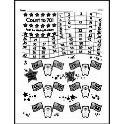 Free First Grade Number Sense PDF Worksheets Worksheet #207