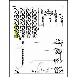 Free First Grade Number Sense PDF Worksheets Worksheet #121