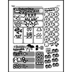 Free First Grade Number Sense PDF Worksheets Worksheet #80