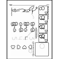Free First Grade Number Sense PDF Worksheets Worksheet #55