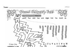 Free First Grade Number Sense PDF Worksheets Worksheet #152
