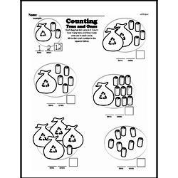 Free First Grade Number Sense PDF Worksheets Worksheet #162