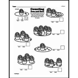 Free First Grade Number Sense PDF Worksheets Worksheet #202