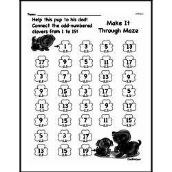 Pattern Worksheets - Free Printable Math PDFs Worksheet #117