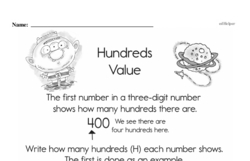 Place Value Worksheets - Free Printable Math PDFs Worksheet #4