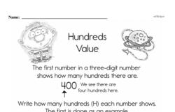 Place Value Worksheets - Free Printable Math PDFs Worksheet #9