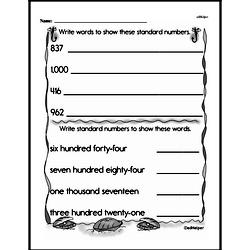 Place Value Worksheets - Free Printable Math PDFs Worksheet #10