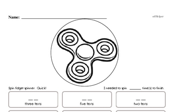 Free First Grade Place Value PDF Worksheets | edHelper com