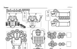 Free First Grade Subtraction PDF Worksheets Worksheet #6