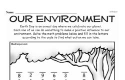Free First Grade Subtraction PDF Worksheets Worksheet #26