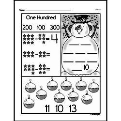 Free First Grade Subtraction PDF Worksheets Worksheet #32