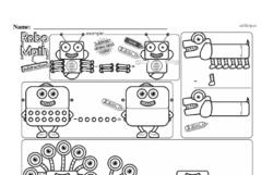 Free First Grade Subtraction PDF Worksheets Worksheet #13
