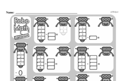 Free First Grade Subtraction PDF Worksheets Worksheet #20