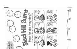 Free First Grade Subtraction PDF Worksheets Worksheet #7