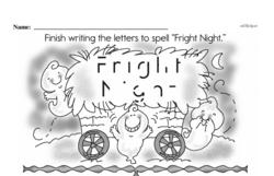 Free First Grade Subtraction PDF Worksheets Worksheet #17