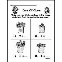 First Grade Subtraction Worksheets Worksheet #66