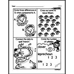First Grade Subtraction Worksheets Worksheet #85
