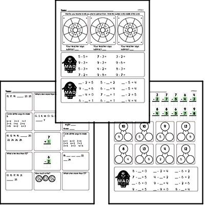 Subtraction Worksheets - Free Printable Math PDFs EdHelper.com