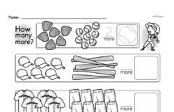 First Grade Subtraction Worksheets Worksheet #10