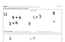 Subtraction Worksheets - Free Printable Math PDFs Worksheet #224