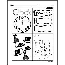 First Grade Time Worksheets Worksheet #25