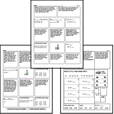 Word Problems Mixed Math PDF Book
