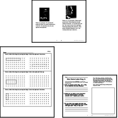 Martin Luther King, Jr. Activity Book