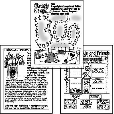 Halloween Puzzles (book 2)