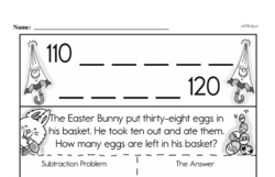 Free 2.OA.B.2 Common Core PDF Math Worksheets Worksheet #37