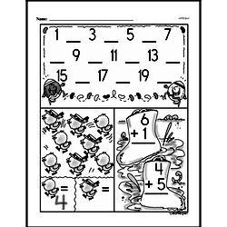 Free 2.OA.B.2 Common Core PDF Math Worksheets Worksheet #53