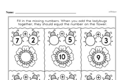 Free 2.OA.B.2 Common Core PDF Math Worksheets Worksheet #80