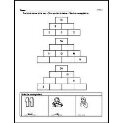 Free 2.OA.B.2 Common Core PDF Math Worksheets Worksheet #4