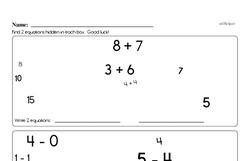 Free 2.OA.B.2 Common Core PDF Math Worksheets Worksheet #12