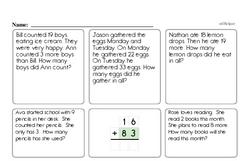Free 2.OA.B.2 Common Core PDF Math Worksheets Worksheet #14