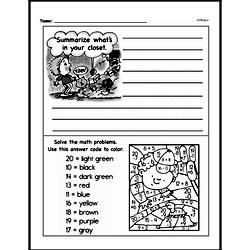 Free Second Grade Addition PDF Worksheets Worksheet #21